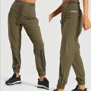 Gymshark Green Box Utility Jogger Pants XL